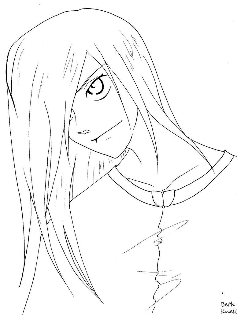 Lineart Anime Boy : Free anime boy lineart by garnetweavile on deviantart