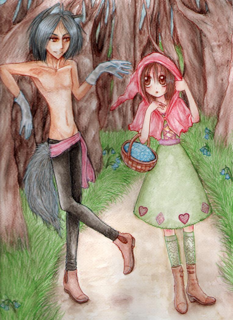 .:Have you met the Wolf before?:. by GarnetWeavile461