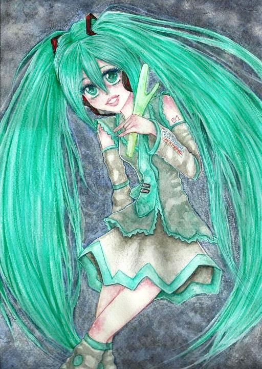 Vocaloid Miku Hatsune by GarnetWeavile461