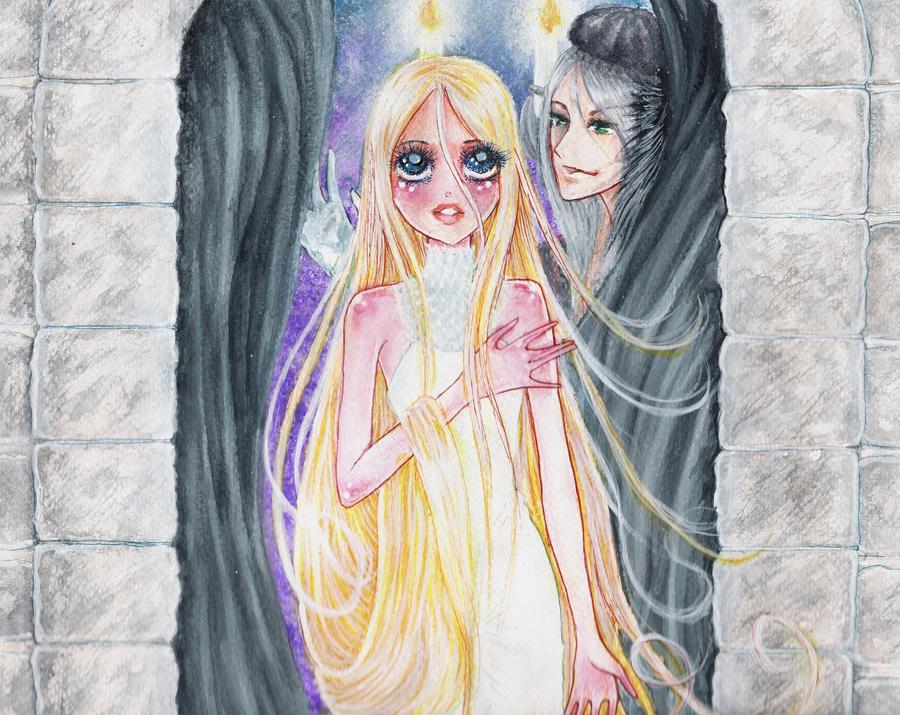 Rapunzel, Rapaunzel, Throw yourself down by GarnetWeavile461