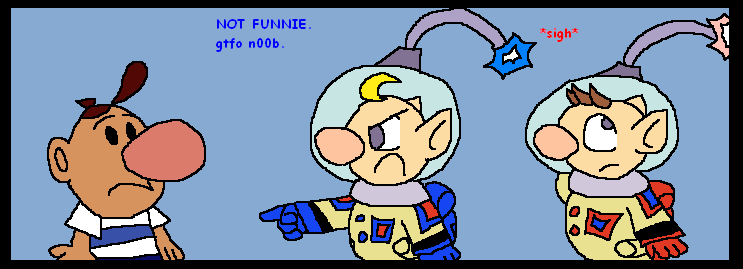 Cartoons+Games Don't Mix by White-Pikmin