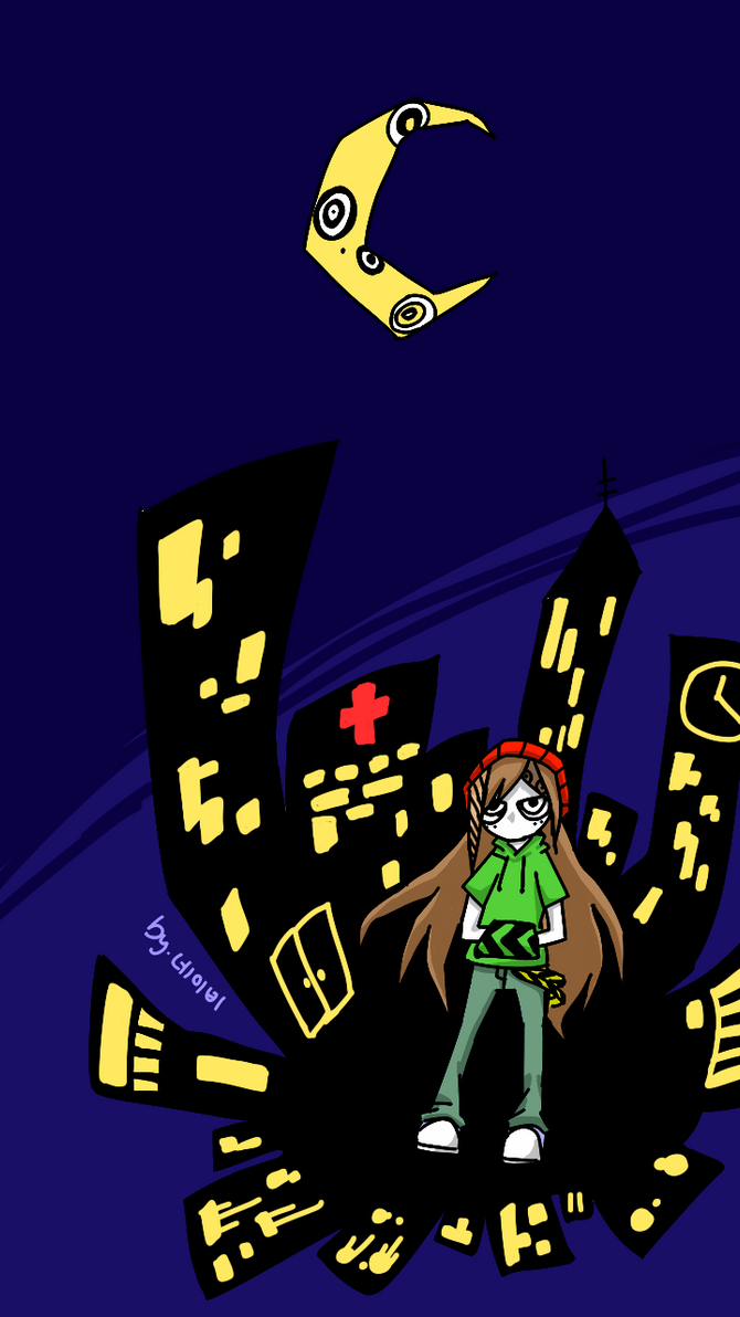 No Star In The City Night by PandaHero-Peke