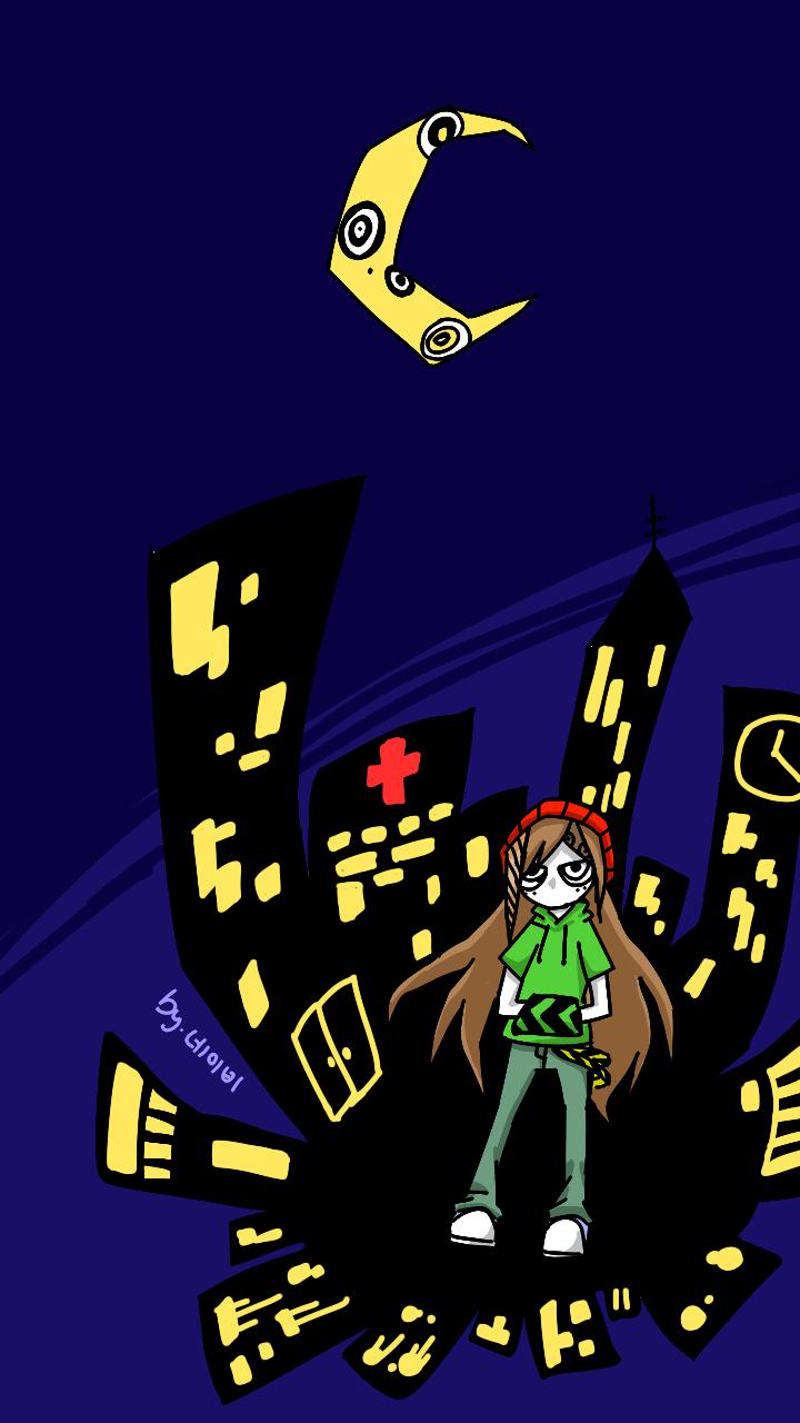 No Star In The City Night by PandaHero-Peke