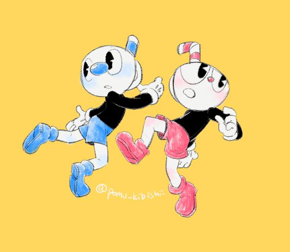 Cup boys doodle by PandaHero-Peke