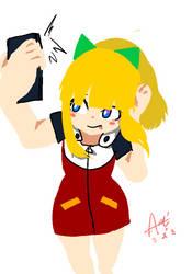 Rollchan selfie doodling by Seon-U