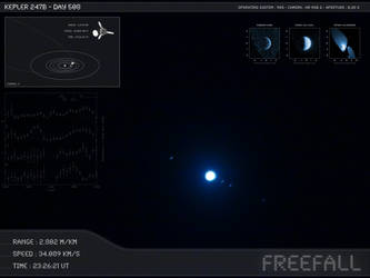 Kepler 247b - Day 508 - Capture 01 by Erwan-Corre