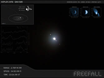 Kepler 247b - Day 508 - Capture 04 by Erwan-Corre