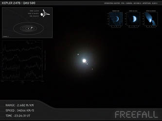 Kepler 247b - Day 508 - Capture 05 by Erwan-Corre