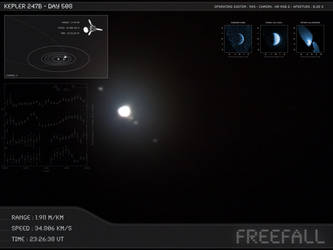 Kepler 247b - Day 508 - Capture 11 by Erwan-Corre