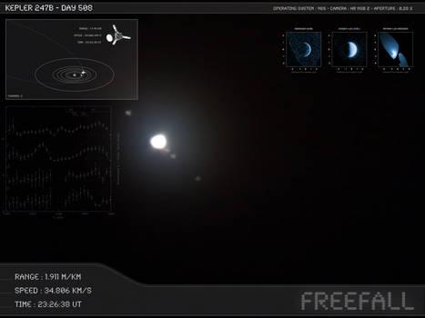 Kepler 247b - Day 508 - Capture 11