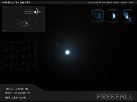 Kepler 247b - Day 508 - Capture 13