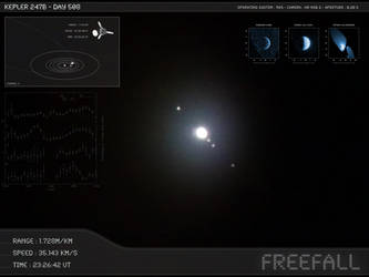 Kepler 247b - Day 508 - Capture 14 by Erwan-Corre