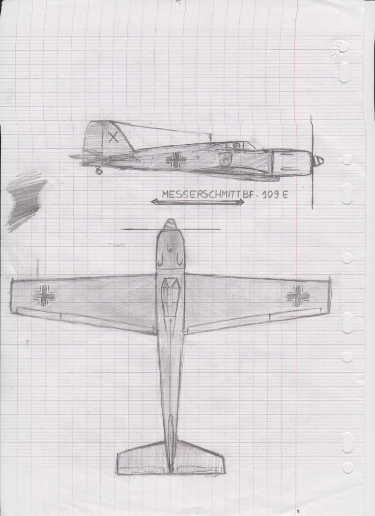 School - Messerschmitt BF109 by YubiGames