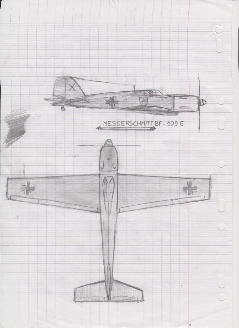 School - Messerschmitt BF109 by YubiGames