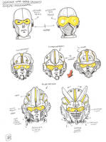 leader one head redesign by multi-comics