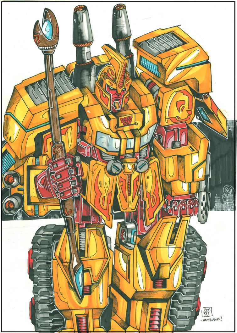 Sentinel prime by multi-comics