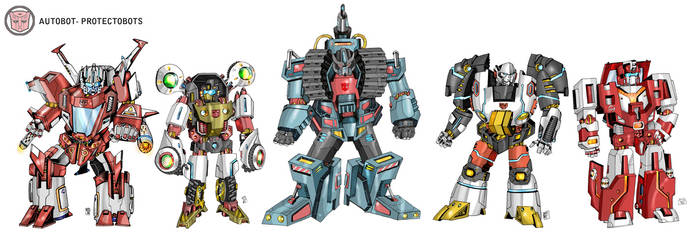 protectobots by multi-comics