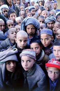 Afghanistan: war orphans.