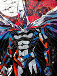 Stained glass picture Batman - The Dark Knight...
