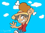 Luffy meat
