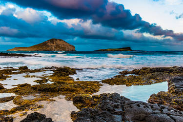 Makapuu and Rabbit Island Oahu Hawaii by shod