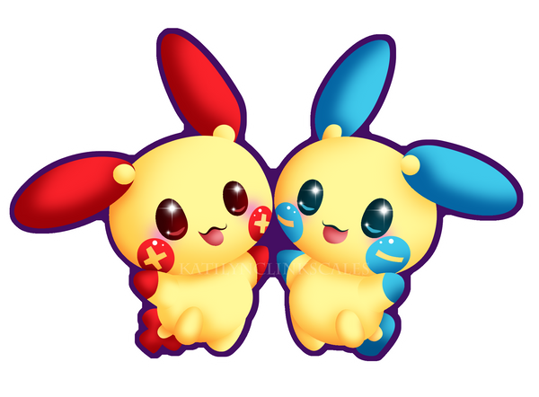 plusle_minun_by_kaitlynclinkscales-d4bdkob.png