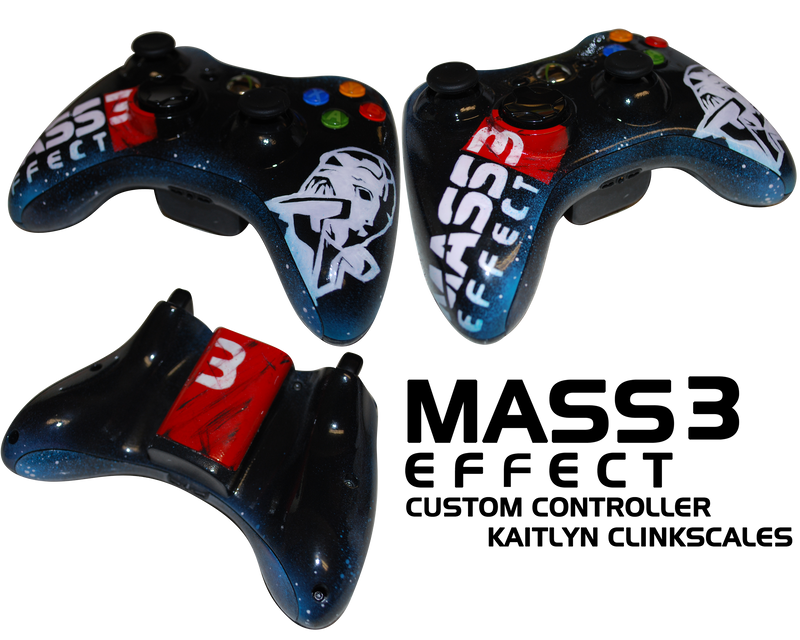 Mass Effect 3 Custom Controller by Clinkorz