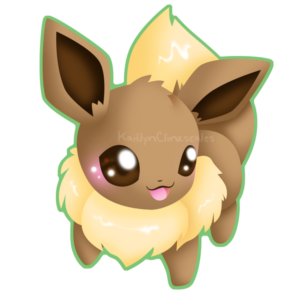 Eevee v2 by Clinkorz
