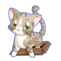 Jasper the cat by Clinkorz