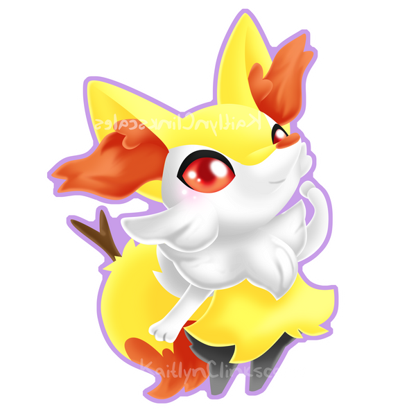 Braixen by Clinkorz