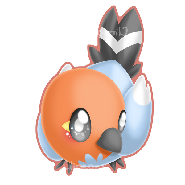 Fletchling by Clinkorz on DeviantArt Fletchling