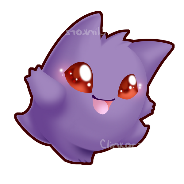 Gengar v3 by Clinkorz on DeviantArt