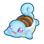 Squirtle :dive into the sea!: