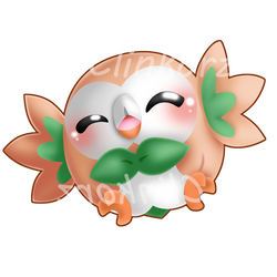 Rowlet by Clinkorz