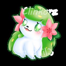 Shaymin v2 by Clinkorz