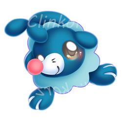 Popplio by Clinkorz