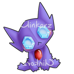 Sableye v2 by Clinkorz