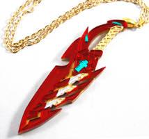 Pyra Blade (acrylic, laser)