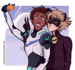 Lance and Adrien as besties Part 2/3