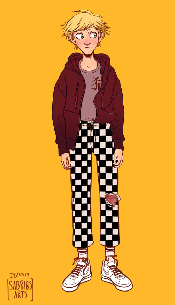 Fashion!Adrien 1/2 by urbangurl123