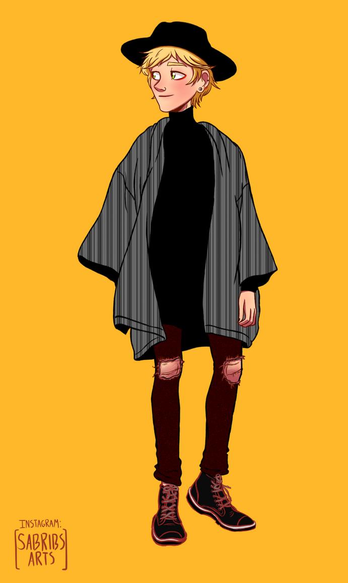 Fashion!Adrien 2/2 by urbangurl123