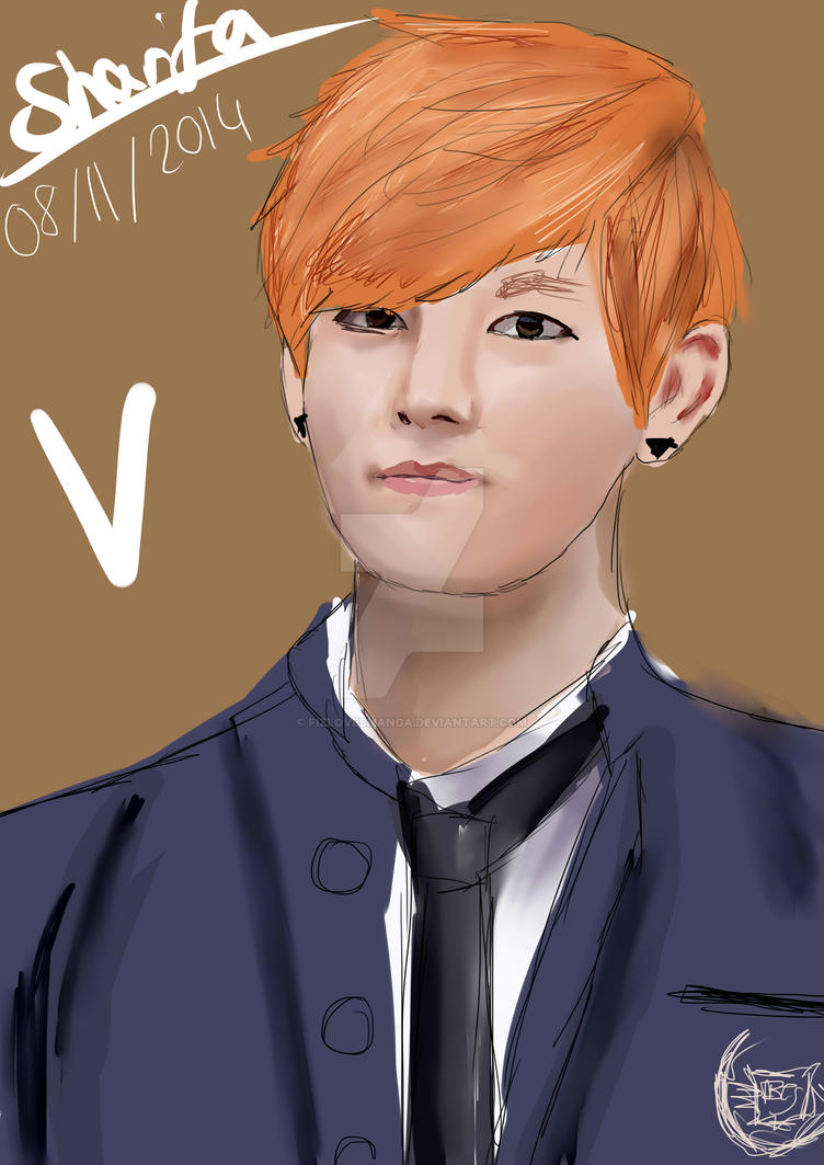 V drawing by FizLovesManga