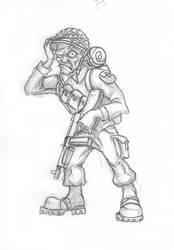 A Soldier by wonrz