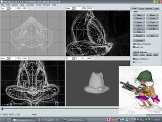WIP Babs Bunny 3D Model by wonrz