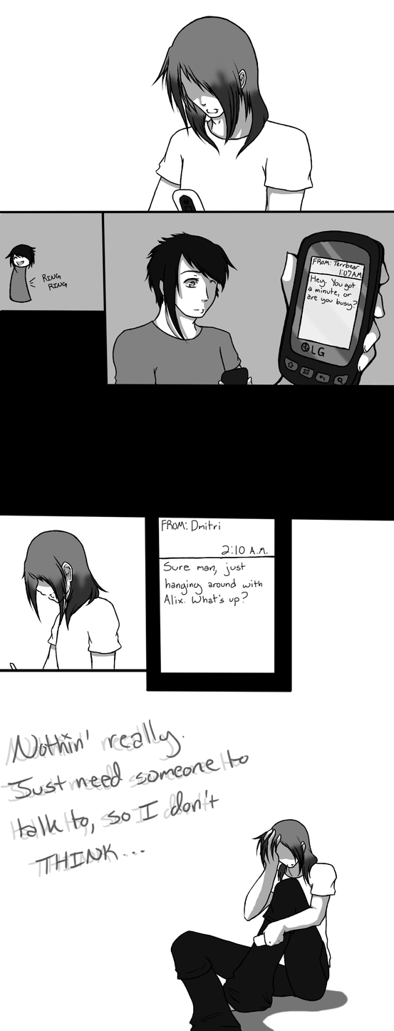 Just Need Someone to Talk To by XxShArPeSt-LiVeSxX
