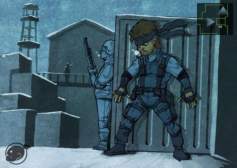 Fan Art Friday - Metal Gear Solid