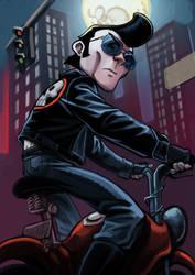 kishi rider sketch by estivador