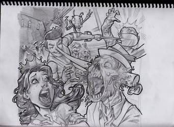 pinocchio sketch by estivador
