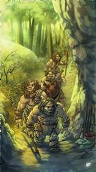 cavemans back by estivador