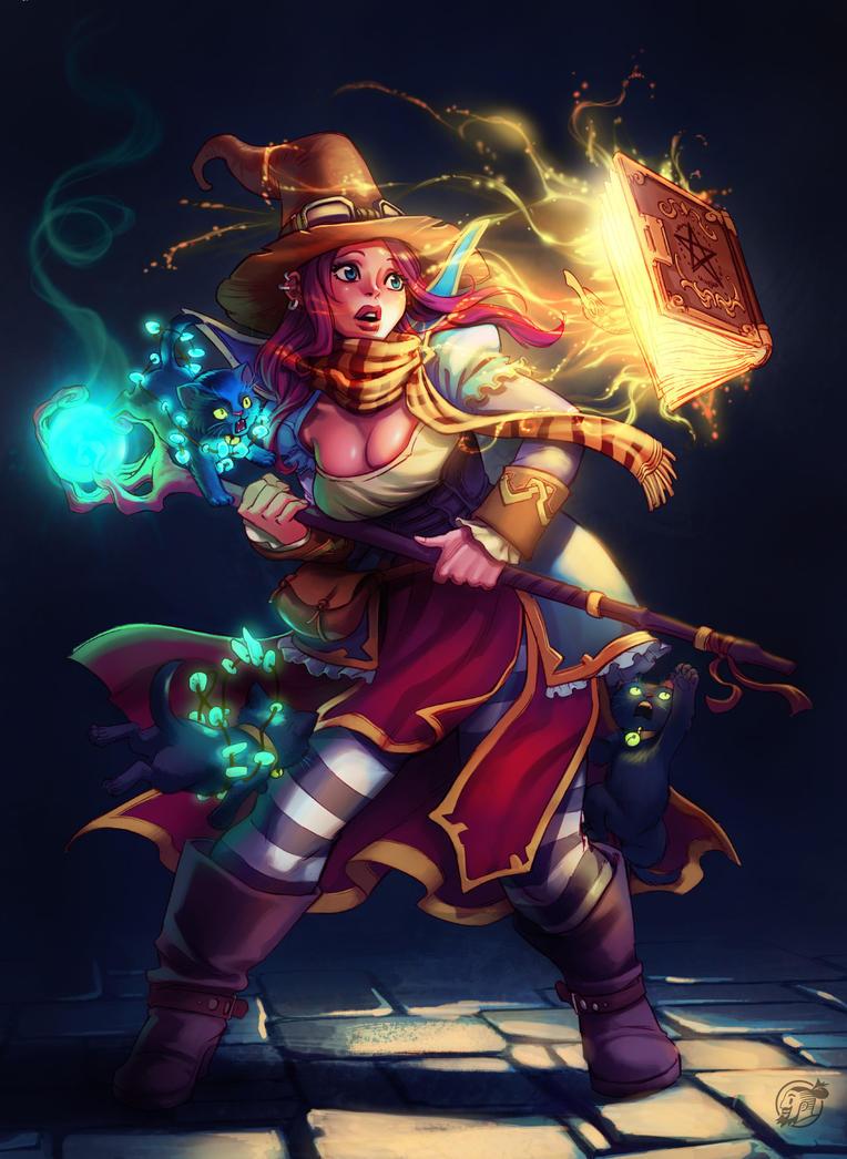 Witch by estivador